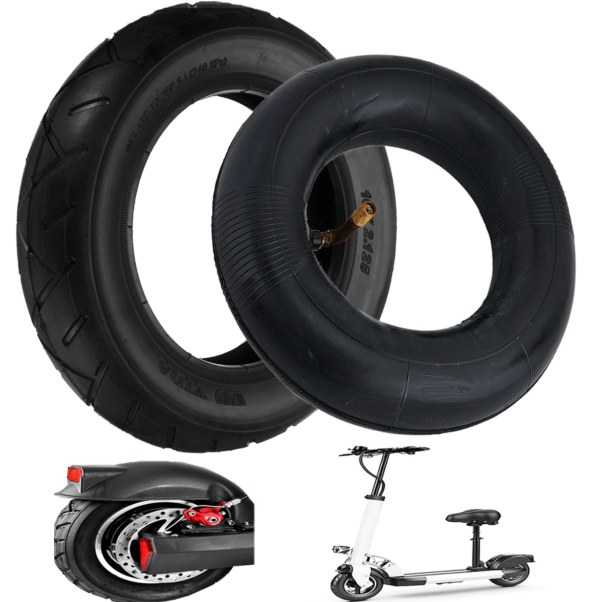 10inch x hot for hoverboard tire inner tube self for Tire tub