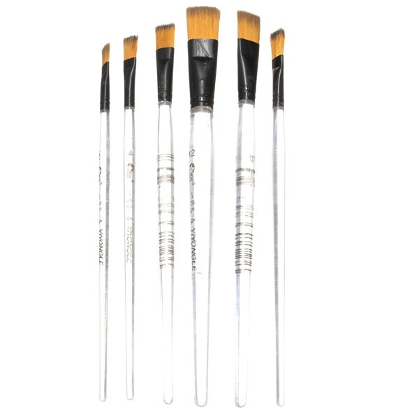 Artist Paint Brush 6 PCS Oil Painting Brushes Wholesale Art Supplies (Eachine1) Burbank Куплю товары