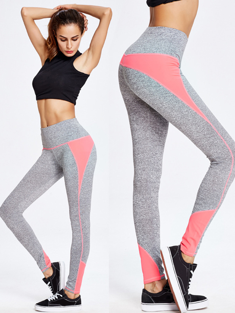 Women High Waist Yoga Running Pants Casual Sport Skinny Pants