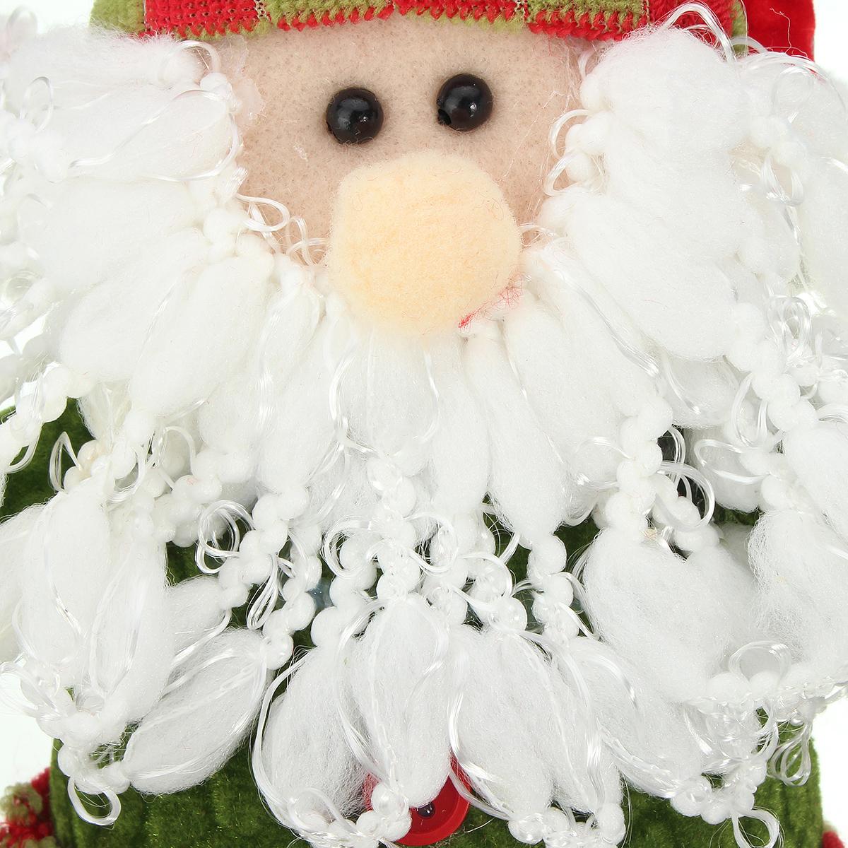 Santa Claus Snowman Reindeer 26x13cm Christmas Doll Home Decor Xmas Gift - Photo: 12