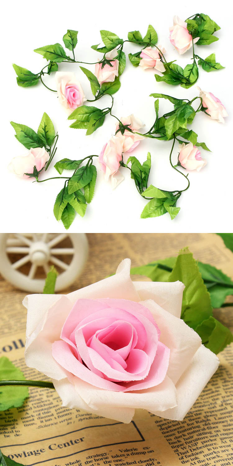 garden artificial rose flower decoration