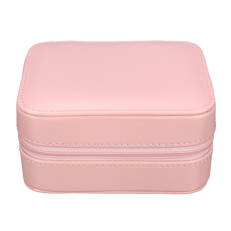Detachable Portable Small Jewelry Earrings Necklace Storage Box For Travel