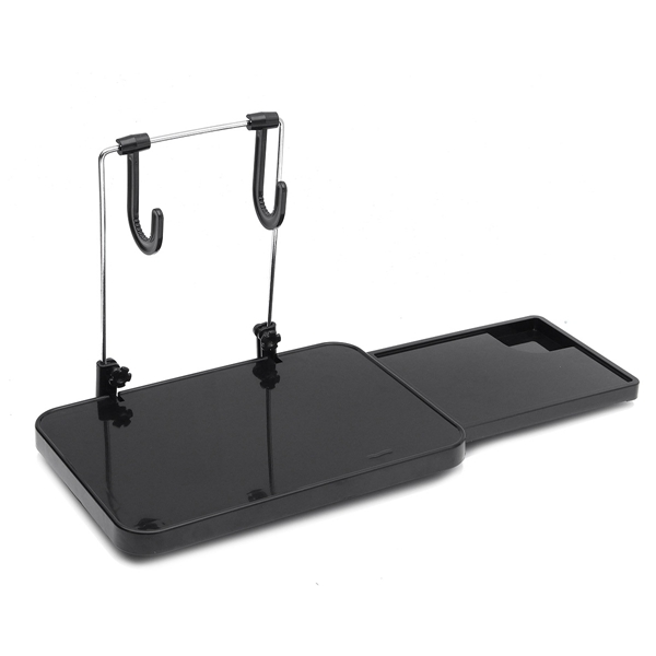 Collapsible Multifunctional Car Tray Laptop Table Holder Drawer For PC Drink Food Cup