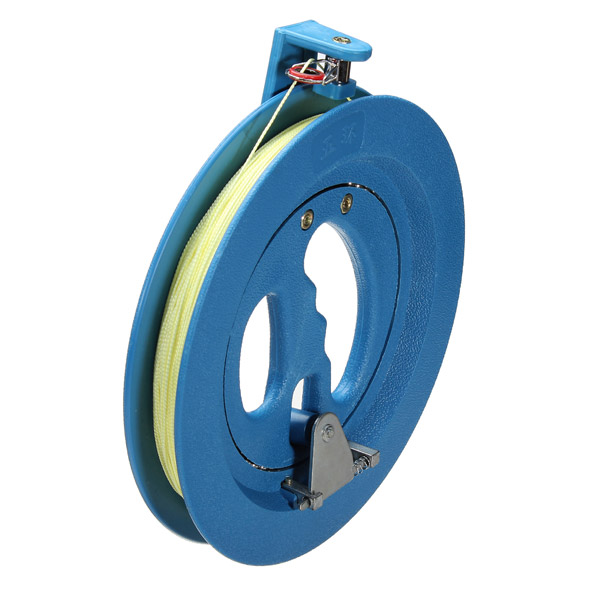 Buy Round Blue Plastic ABS 18cm Kite Reel Winder with 220m Line Connector