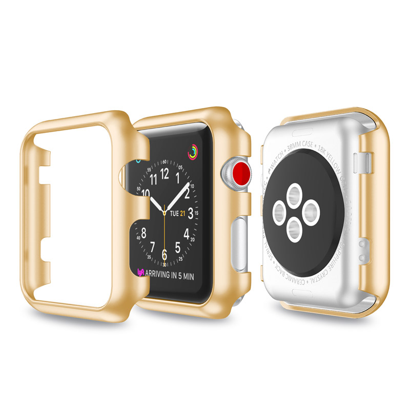 42mm Multi-color Plating PC Watch Protective Case For Apple