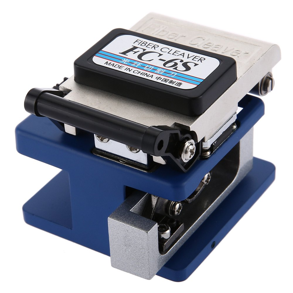 Buy AUA FC-6S Fiber Cleaver High Precision Cutter Optical Cutting Tool Compact Dody And Light Weight