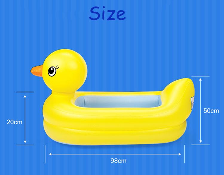 Baby Bath Tub Duck Munchkin Hot Inflatable Duck Tub Fun Baby Bath Toy New Ebay Baby Bargains