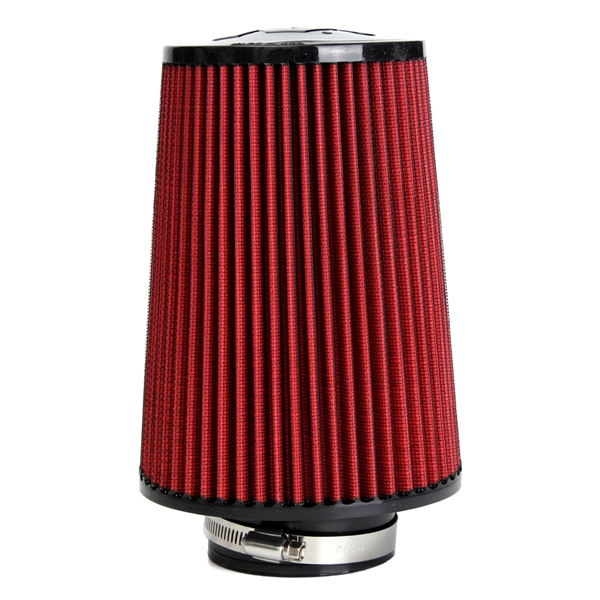 Cold Air Air Cleaner : High flow car cold air intake filter tapered cone