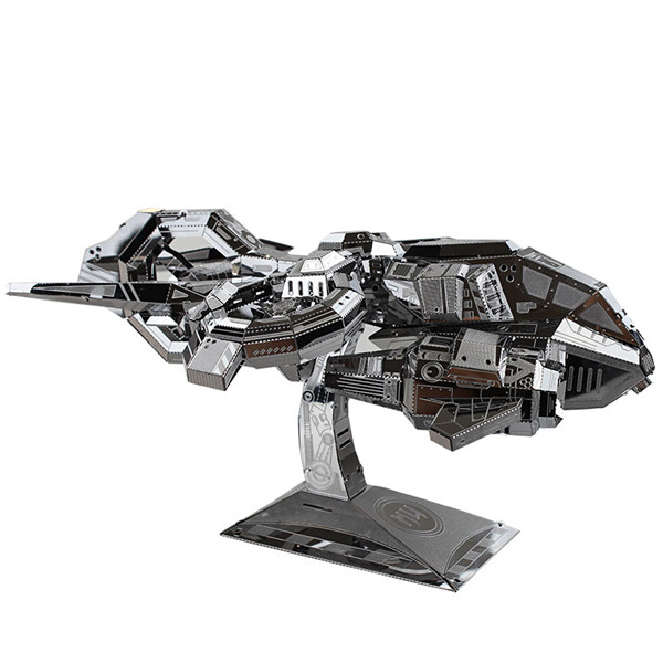 Buy MU TGA-S01 3D Puzzle Model Thubderhawk Gunship Aircraft Color Silver 180*135*90mm