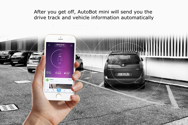 Autobot Car OBD Device Driving Safety Warning Recorder Driving Track Assistant