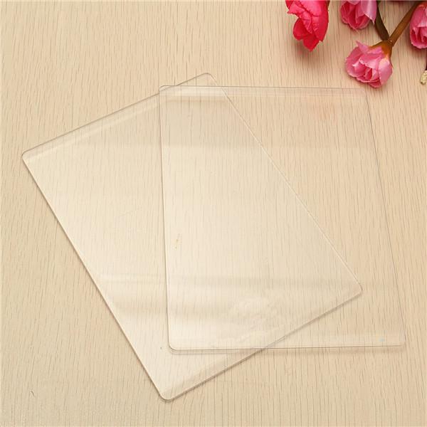 3mm/5mm Transparent Acrylic Cutting Embossing Plates Platform Dies Cutter Spacer (Eachine1) El Paso товары вещи