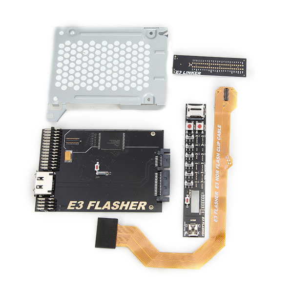 Buy Original E3 Nor Flasher with 4 Parts for PS3 Dual Boot Slim Power Switch-Downgrade from v4.5 to v3.55