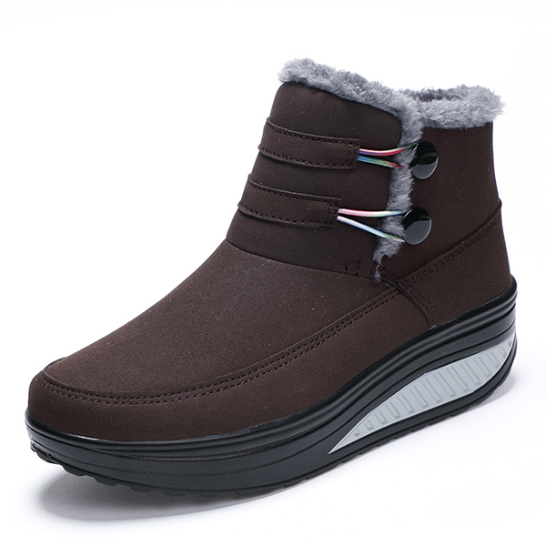 Women Winter Slip On Keep Warm Boots