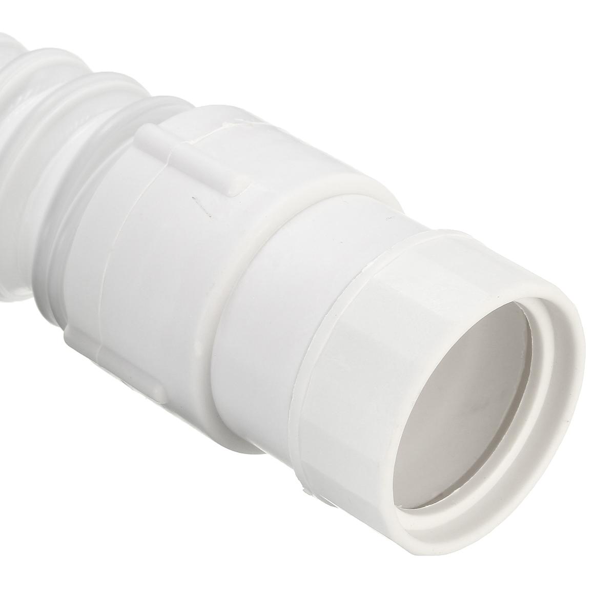 Plastic Sink Basin : 36-75cm White Plastic Basin Sink Hose Adjustable Waste Pipe Alex NLD