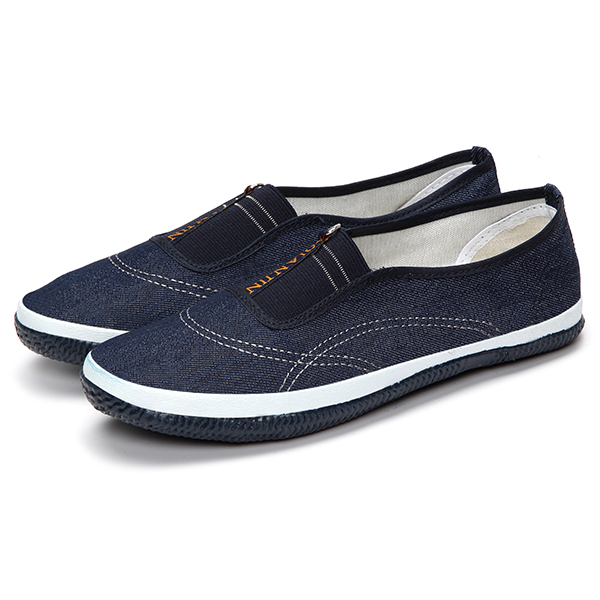 Casual Soft Sole Slip On Round Toe Breathable Flat Loafers