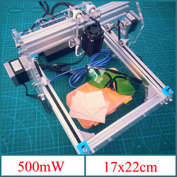 500mW Desktop DIY Violet Laser Engraver Engraving Machine