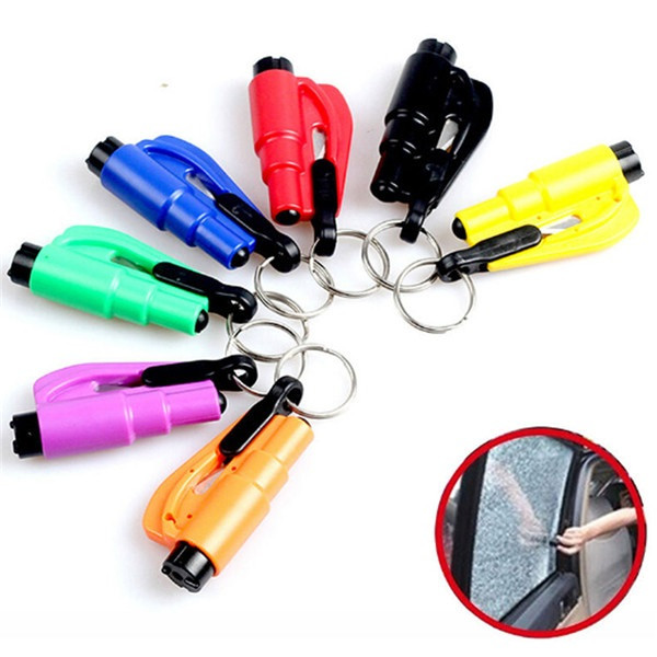 3 in 1 Mini Emergency Safety Hammer Auto Car Window Glass Breaker Cutter Rescue Escape Tool the rescue