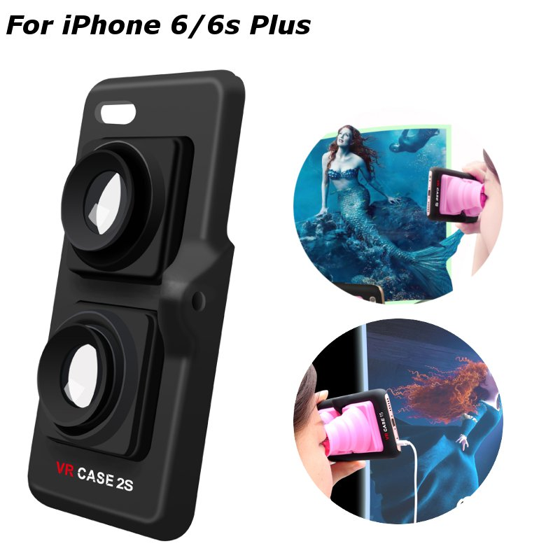 Portable Virtual Reality 3D VR Hard Back Case For iPhone 6 Plus 6s Plus 5.5 Inch