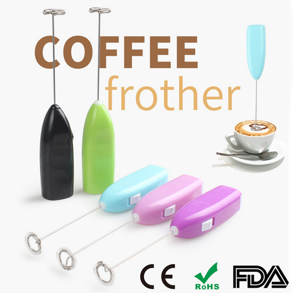 Fashion Electric Coffee Egg Mixer Shaker Whisk Coffee Frother Egg Beater