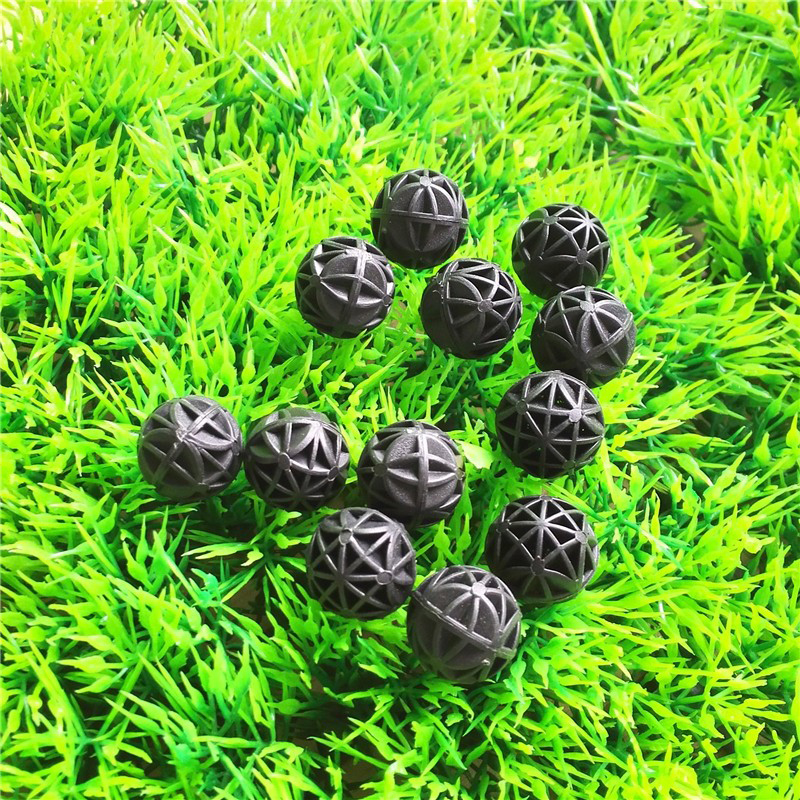 100 pcs 16mm Aquarium Bio Balls Filter Media Wet/Dry Koi Fish Tank Pond