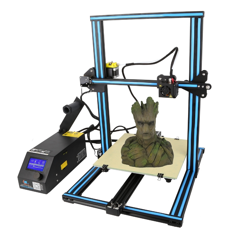 Creality 3D CR-10 Blue DIY 3D Printer Kit