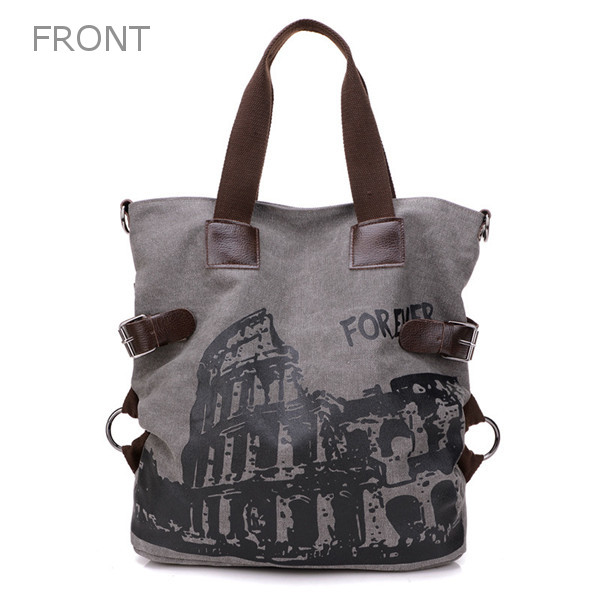 Canvas Graffiti Bag