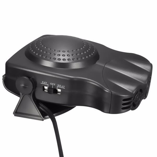 2 in1 Portable Auto Car Van Heater + Cool Fan Windscreen Window Demister 12V 150W