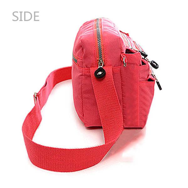 女性ナイロン防水バッグ多機能ジッパーメッセンジャートラベルクロスボディバッグメッセンジャーバッグ