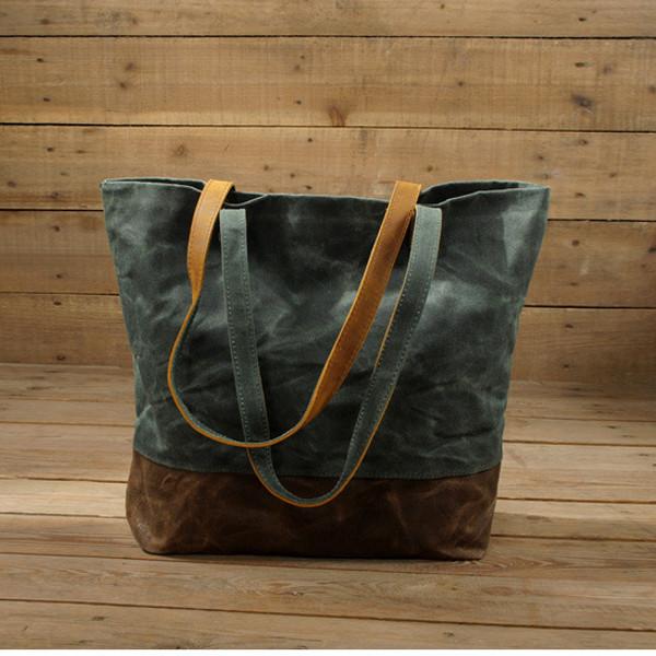 女性のオイルレザートートバッグカジュアルショルダーバッグ容量ショッピングバッグ