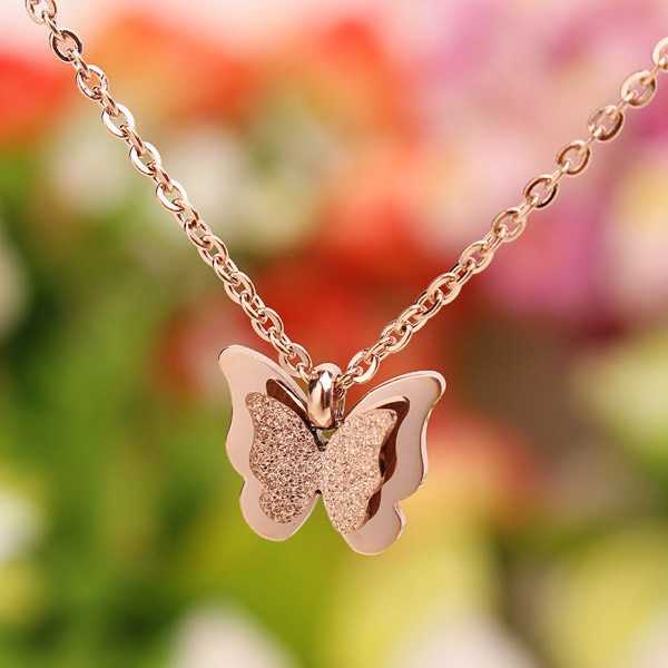 Butterfly Clavicle Necklace