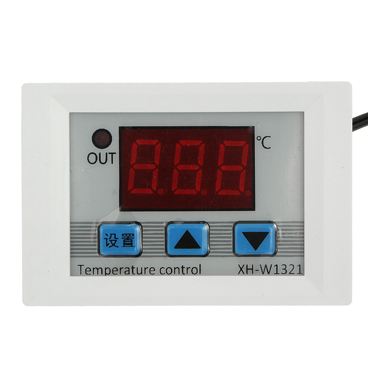 Digital LED Temperature Controller DC12V 10A Thermostat Control Switch  #740E0E