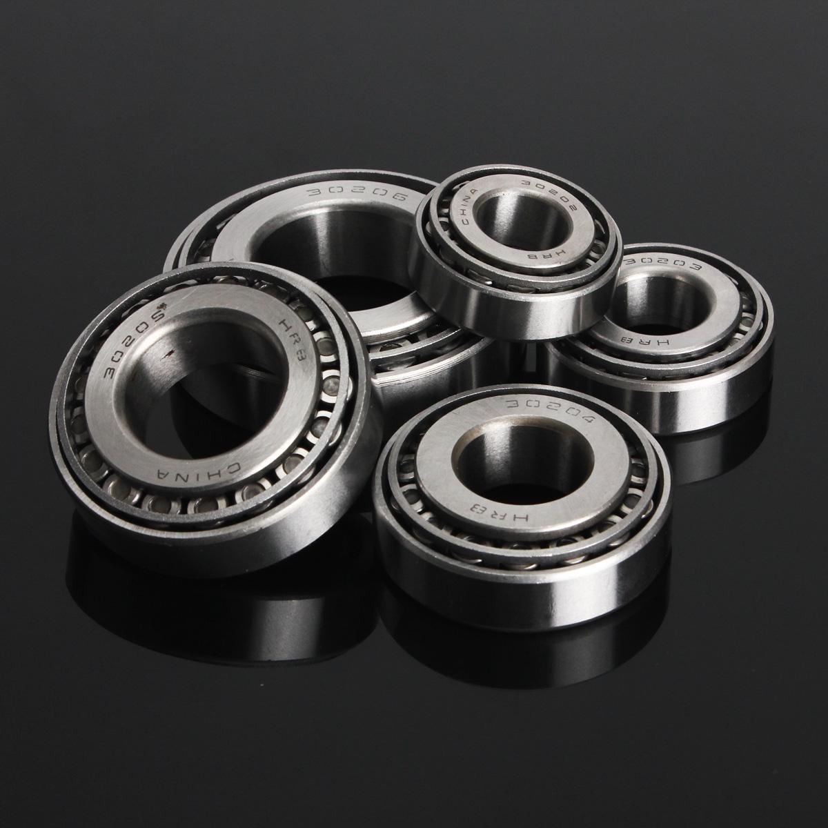 Buy 30202-30206 Steel Single Row Taper Tapered Roller Bearing Metric Bearings