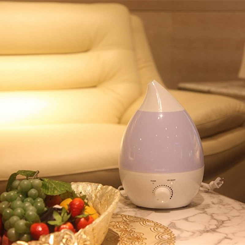 1.3L Ultrasonic Home Aroma Humidifier Essential Oil Sterilization LED Nightlight Air Diffuse Purifier Atomizer
