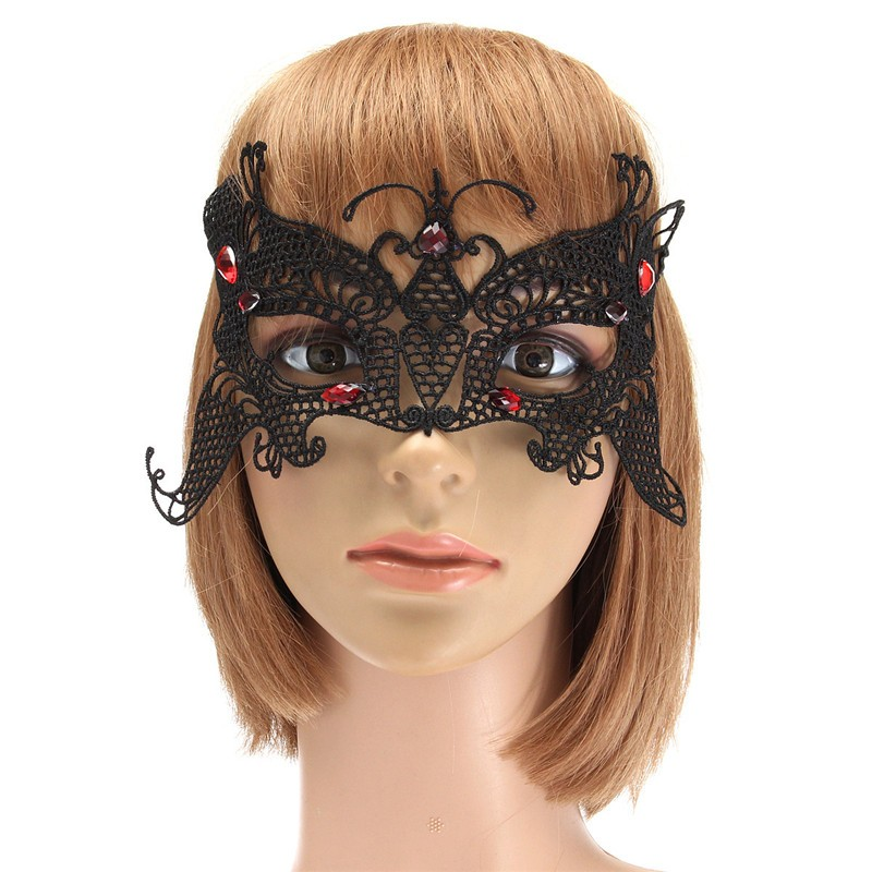 Lace Sexy Black Eye Party Women Lady Masquerade Mask