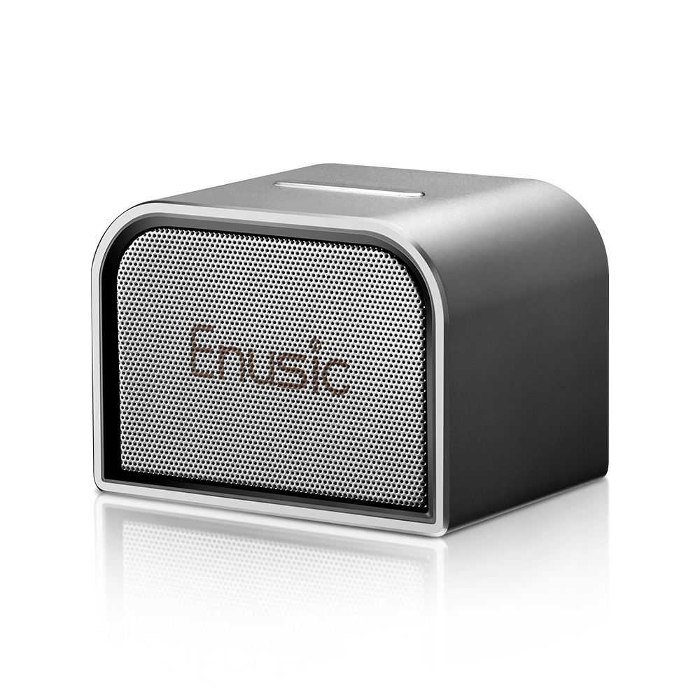 Enusic 001 Mini Bluetooth Speaker With Metal Shell xBass And UP To 5H Playtime