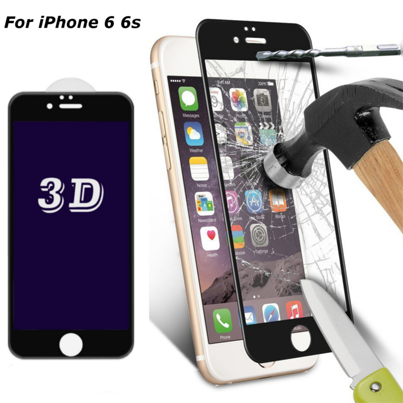 Buy 0.33mm 3D Curve Edge 9H Anti Blue Light Tempered Glass Screen Protector iPhone 6 6s 4.7 Inch