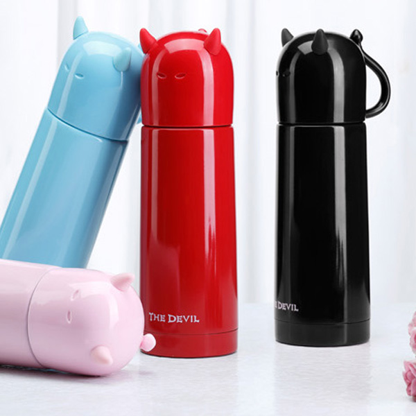 Buy Devil Stainless Steel Travel Mug Thermos Insulated Vacuum Flask Bottle
