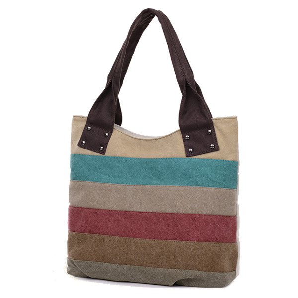 Canvas Stripe Bag