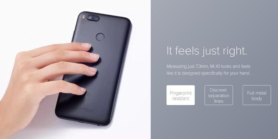 Xiaomi Mi A1 Mia1 Dual Rear Camera 5 5 Inch 4gb Ram 64gb