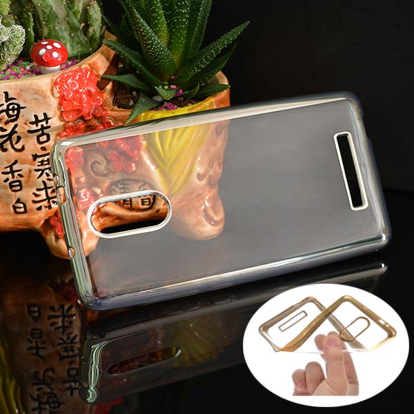 Buy Soft TPU Plating Bumper Back Case For Xiaomi Redmi Note 3 Pro