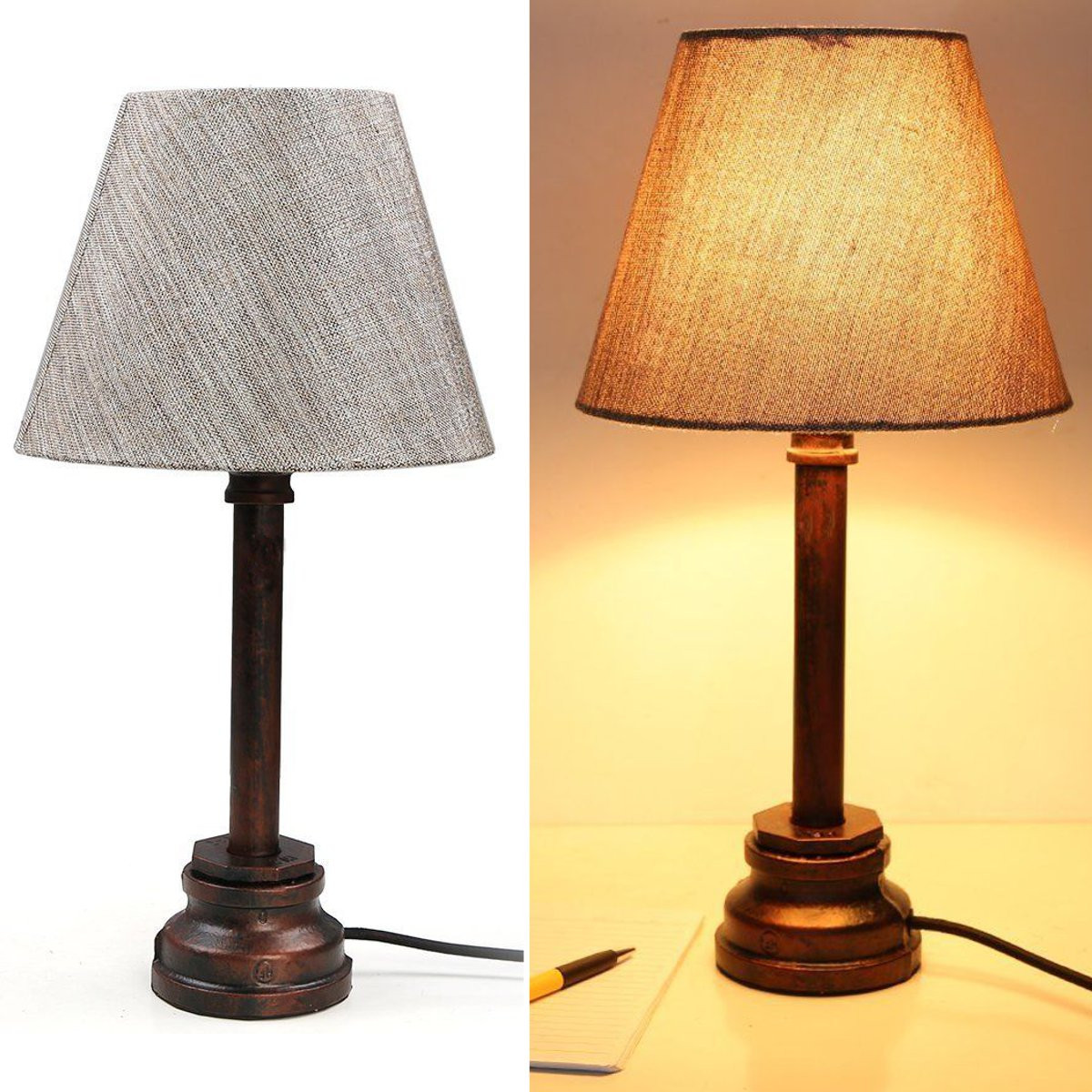 Make Wall Lamp Shades : Buy 2PCS Set Linen Table Wall Lamp Shades Urbanest Chandelier Desk Fabrics Droplight #Goodbuy ...