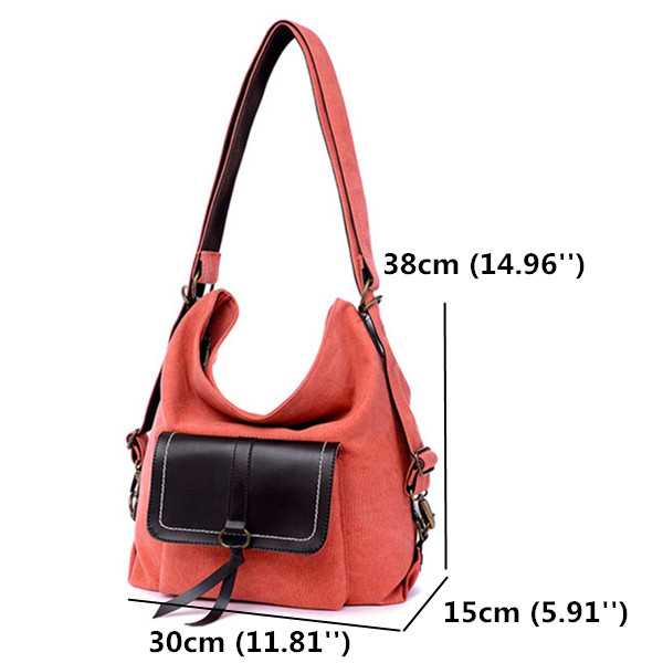 Size Of Casual Canvas Bags