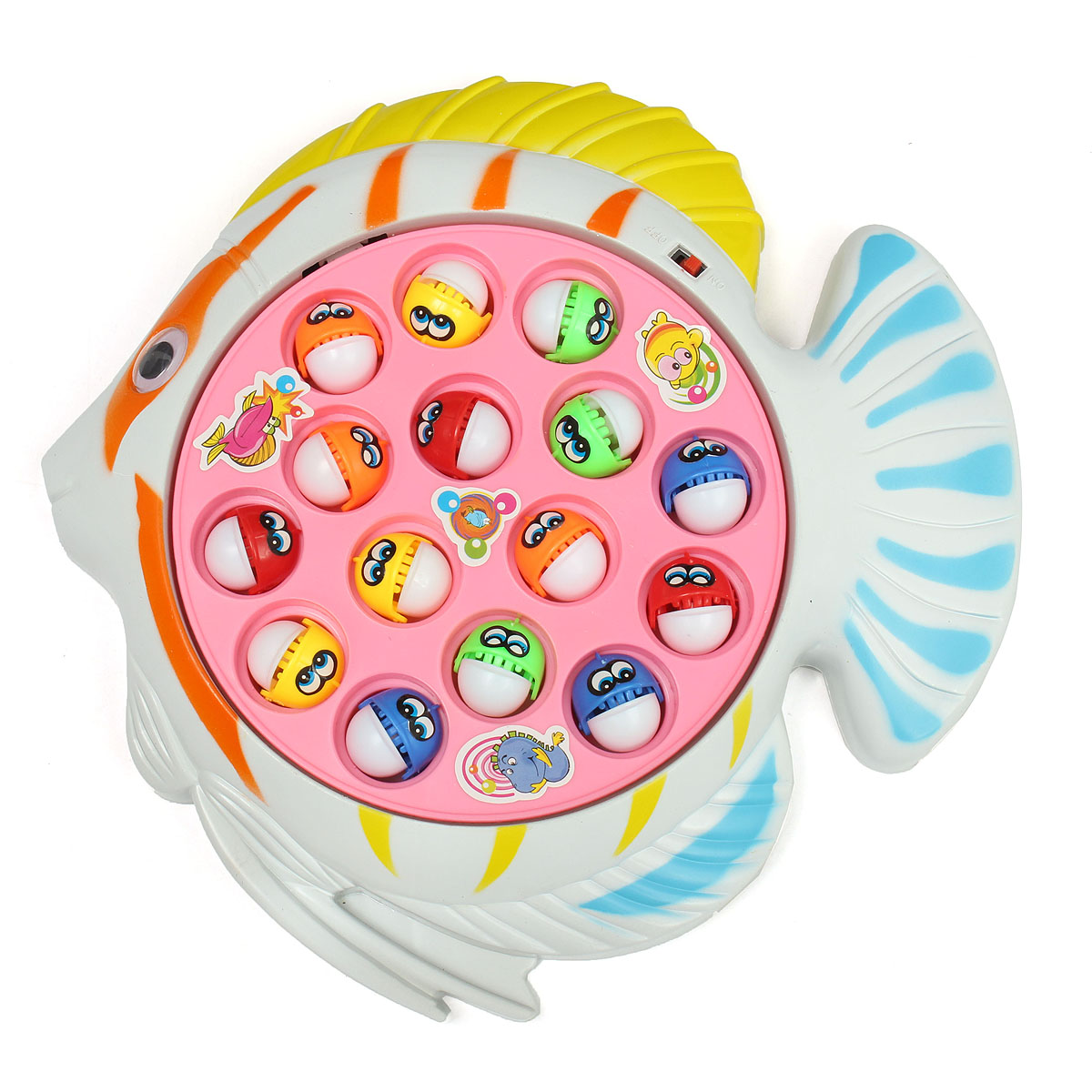 Fish Game Toy : Fishing game toy random color children toys alex nld