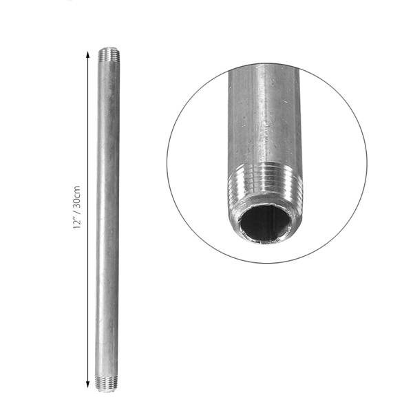 Inch carbon steel pipe fittings nipple fitting