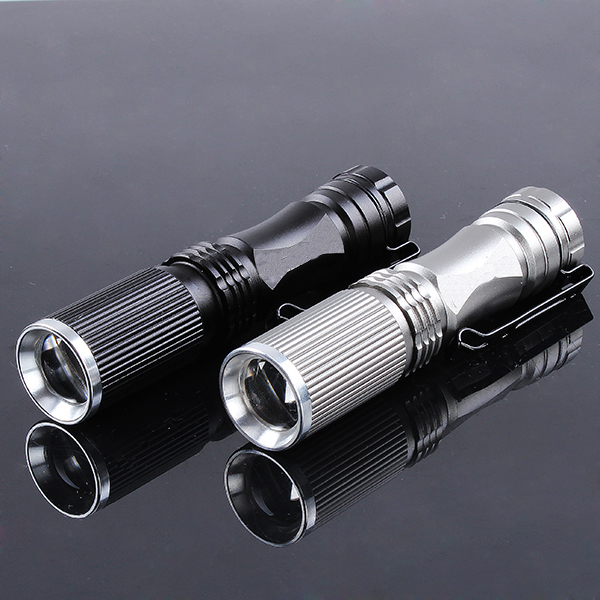 Meco XPE-Q5 600 Lumen 7W Zoomable LED Flashlight For 1xAA 1.2V u king zq g008 xpe q5 18650 800lm zoomable led flashlight
