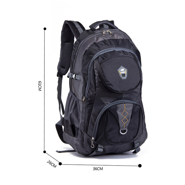 14inch Laptop Large Capacity Travel ナイロン Men Backpack Casual Hiking Backpack