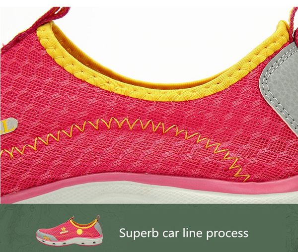 CAMEL Women Outdoor Breathable Walking Shoes Wear-resisting Hiking Shoes