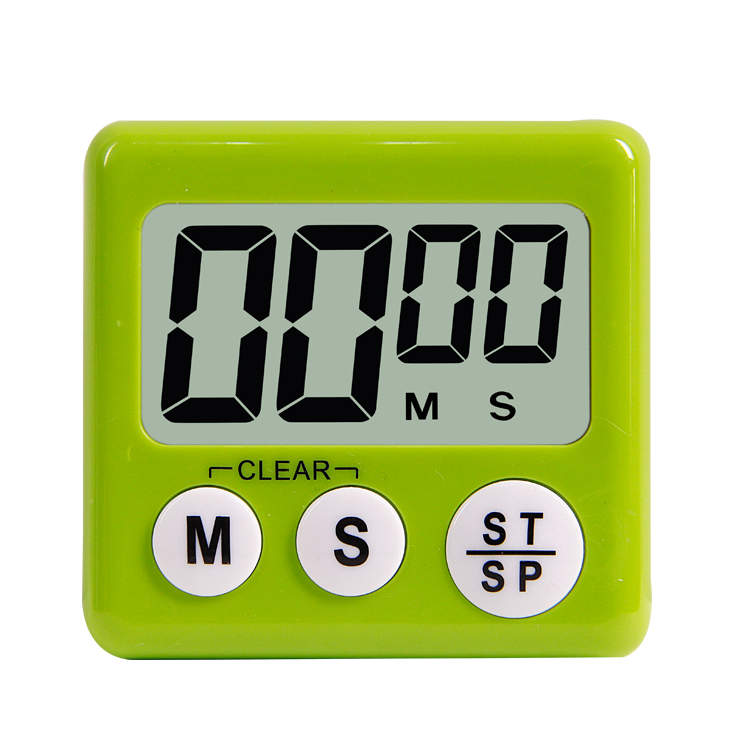 Loskii KC-07 Automatic Shutdown Digital Kitchen Cooking Timer with Switch to Adjust Volume Countdown Multifunction with Big Digits Loud Alarm