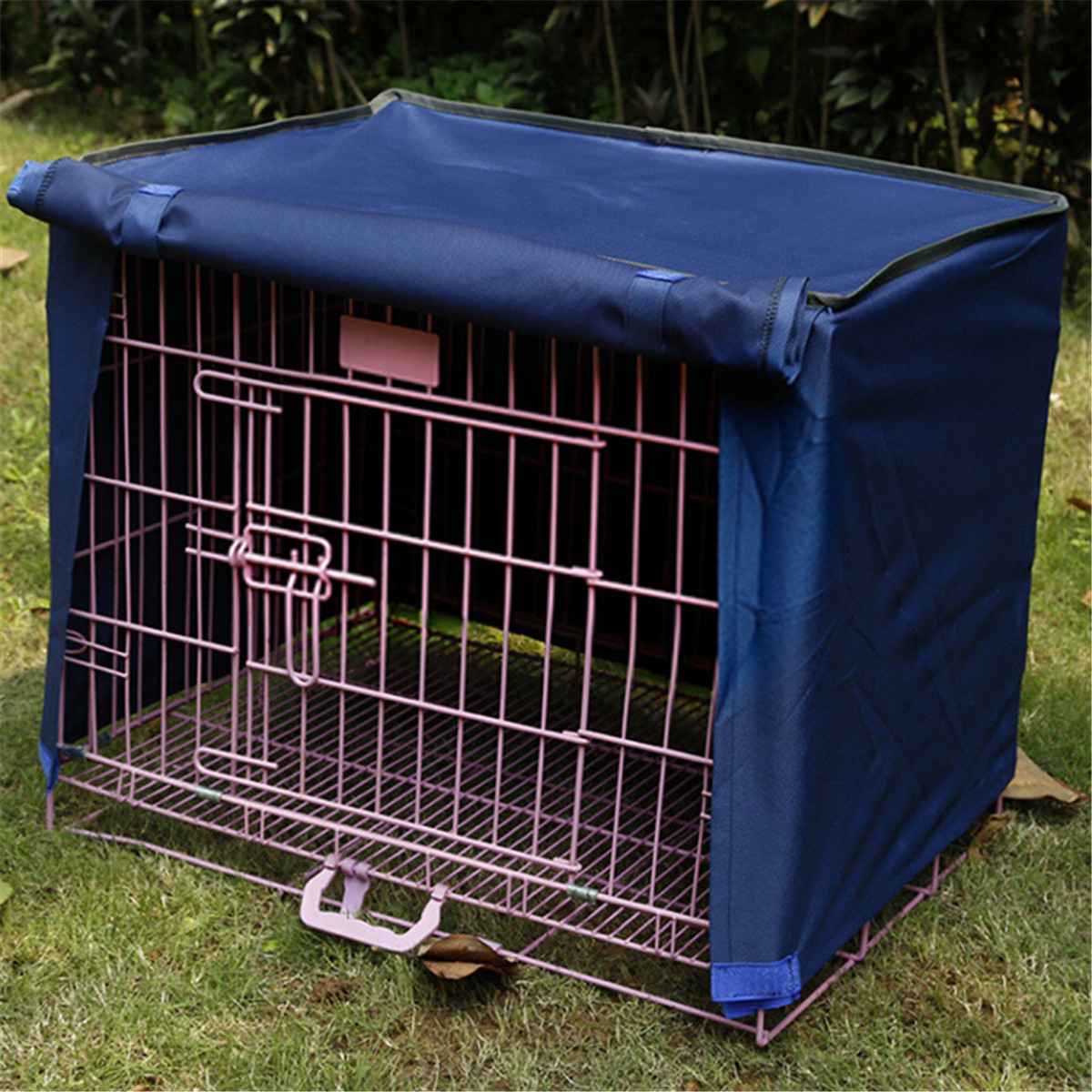 Pet Dog Cat Cage Cover Cloth Polyester Waterproof Breathable Supplies Pet Anti-dus Cover Cloth