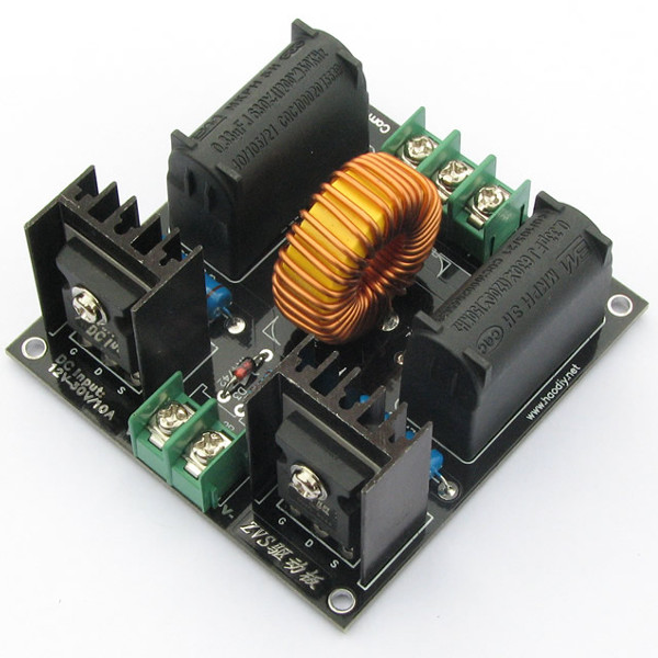 где купить DIY ZVS Tesla Coil Power Supply Boost Voltage Generator Drive Board Induction Heating Module по лучшей цене